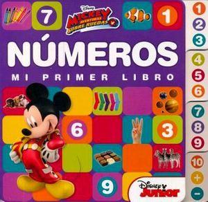 NUMEROS -MI PRIMER LIBRO- (DISNEY MICKEY AVENTURAS SOBRE RUEDAS)