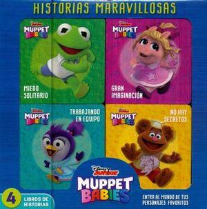 HISTORIAS MARAVILLOSAS -DISNEY JUNIOR MUPPET BABIES- (C/4 LIBROS)