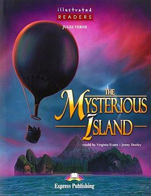 THE MYSTERIOUS ISLAND BOOK (ILLUSTRATED)