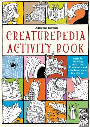 CREATUREPEDIA ACTIVITY BOOK