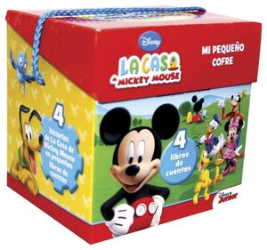 MI PEQUEÑO COFRE -LA CASA DE MICKEY MOUSE- (C/4 LIBROS DE CUENTOS