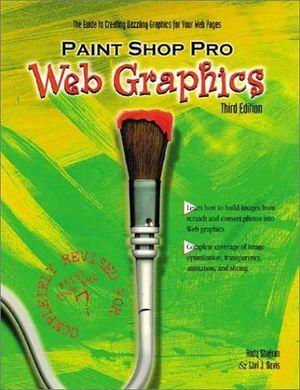 PAINT SHOP PRO WEB GRAPHICS 3ED.