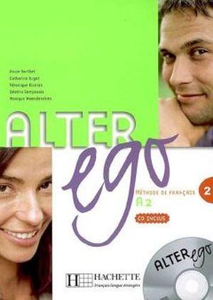 ALTER EGO 2 A2 LIVRE DE L'ELEVE + CD ENCARTE