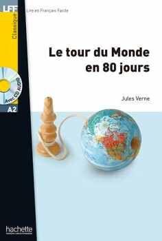 LE TOUR DU MONDE EN 80 JOURS + AUDIO CD AVEC