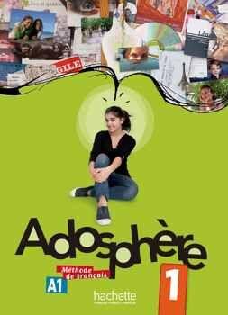 ADOSPHERE 1 LIVRE C/CD A1.1