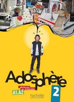 ADOSPHERE 2 LIVRE C/CD A1.A2
