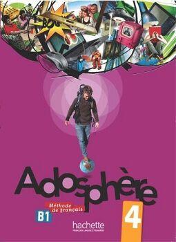 ADOSPHERE 4 LIVRE C/CD B1.1.1