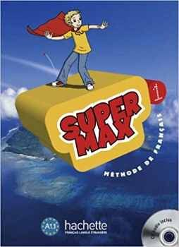 SUPER MAX 1 LIVRE  D'ELEVE C/CD AUDIO