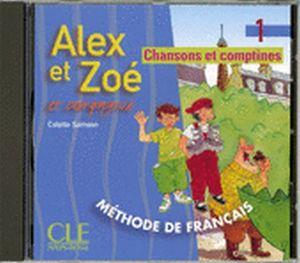 ALEX ET ZOE 1 CD AUDIO INDIVIDUAL