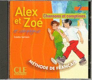 ALEX ET ZOE 2 CD AUDIO