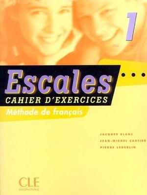 ESCALES 1RO. CAHIER (C/CD)