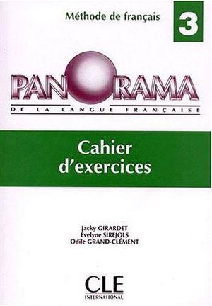 PANORAMA 3 CAHIER DE EXERCICES