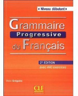 GRAMMAIRE PROGRESSIVE DU FRANCAIS DEBUTANT 2ED LIVRE + CD AUDIO