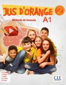 JUS D'ORANGE 2 A1 LIVRE D'ELEVE + DVD-ROM