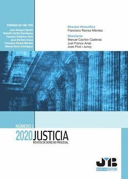 JUSTICIA 2020, Nº 1