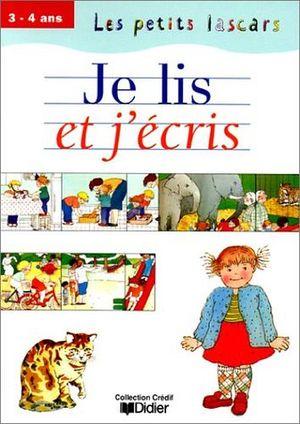LE PETITS LASCARS 3-4 ANS JE LIS ET JECRIS