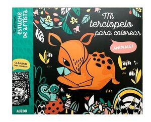 MI TERCIOPELO PARA COLOREAR -ANIMALES-