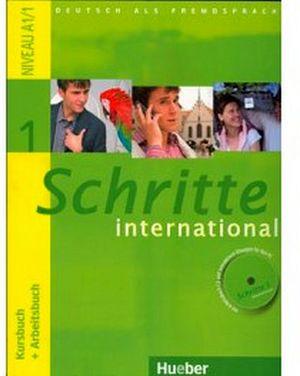 SCHRITTE INTERNATIONAL 1 KB + AB + CD