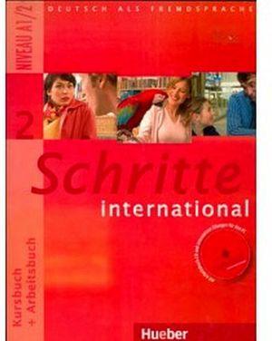 SCHRITTE INTERNATIONAL 2 KB + AB + CD