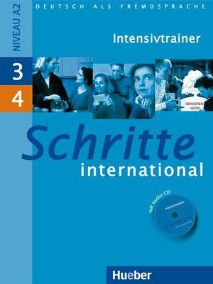 SCHRITTE INTERNATIONAL 3+4 INTENSIVTRAINER MIT AUDIO CD
