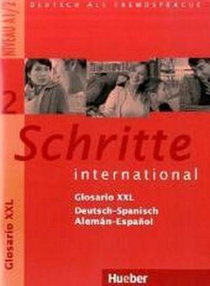 SCHRITTE INTERNATIONAL 2 GLOSARIO XXL DEUSTSCH-SPANISCH