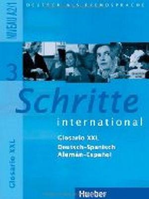SCHRITTE INTERNATIONAL 3 GLOSARIO DEUTSCH-SPANISCH