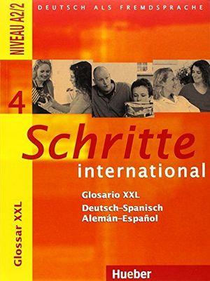 SCHRITTE INTERNATIONAL 4 GLOSARIO DEUTSCH-SPANISCH
