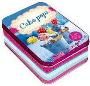 CAKE POPS               (CAJA METALICA C/50 FICHAS)