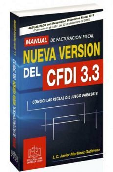 MANUAL DE FACTURACION FISCAL NUEVA VERSION DEL CFDI 3.3