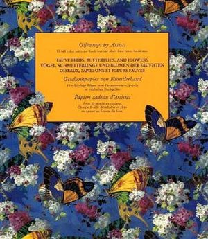FAUVE BIRDS, BUTTERFLIES, AND FLOWERS, VOGEL, ETC.  -GF-