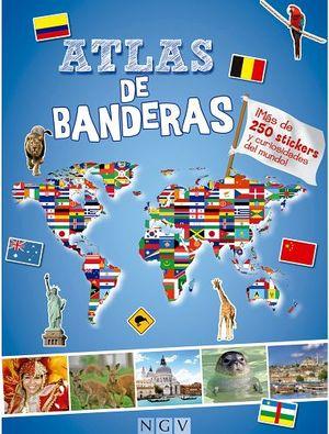 ATLAS DE BANDERAS   (C/MAS DE 250 STICKERS)