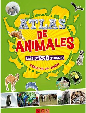 ATLAS DE ANIMALES   (C/MAS DE 250 STICKERS)