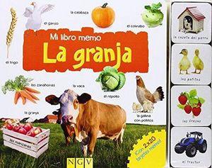 MI LIBRO MEMO -LA GRANJA- (C/TARJETAS)