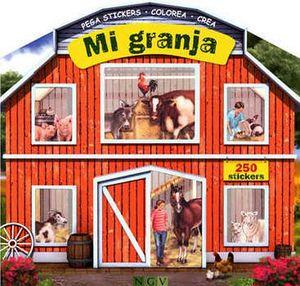 MI GRANJA           -PEGA STICKERS/COLOREA/CREA-