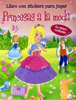 PRINCESAS A LA MODA         (CON STICKERS REUTILIZABLES/EMP.)