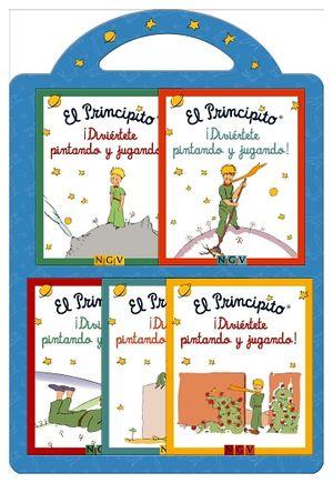 PRINCIPITO, EL ¡DIVIERTETE PINTANDO Y JUGANDO! (C/5 MINILIBROS)