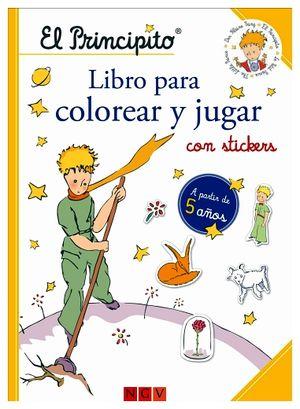 PRINCIPITO, EL -LIBRO PARA COLOREAR Y JUGAR CON STICKERS-