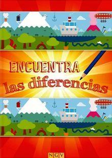 BUSCA LAS DIFERENCIAS                (A PARTIR DE 5 AÑOS)