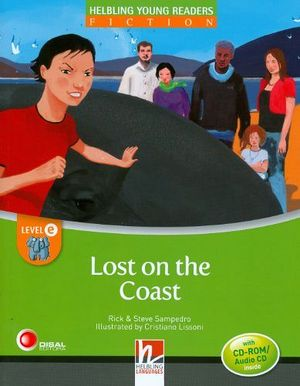 LOST ON THE COAST BOOK + CD-ROM/AUDIO CD