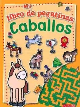 MI LIBRO DE PEGATINAS -CABALLOS-