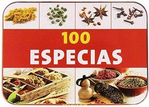 100 ESPECIAS            (CAJA METALICA)