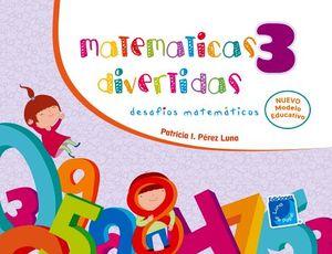 MATEMATICAS DIVERTIDAS 3 PREESC.