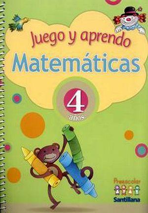 JUEGO Y APRENDO MATEMATICAS 4 AÑOS