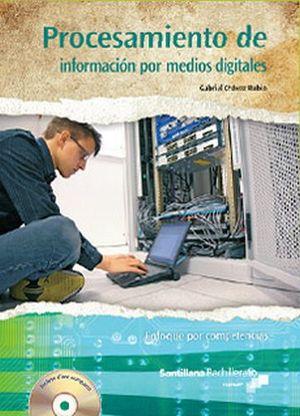 PROCESAMIENTO DE INFORMACION POR MEDIOS DIGITALES  -CONALEP-