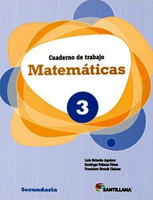 MATEMATICAS 3RO. SEC. (CUADERNO DE TRABAJO)