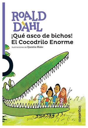 QUE ASCO DE BICHOS! EL COCODRILO ENORME