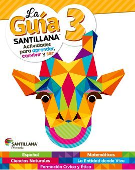 GUIA SANTILLANA 3 PRIM. (ED.2018) -SOLO UN LIBRO-