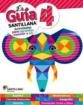 GUIA SANTILLANA 4 PRIM. (ED.2018) -SOLO UN LIBRO-
