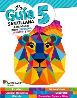 GUIA SANTILLANA 5 PRIM. (ED.2018) -SOLO UN LIBRO-