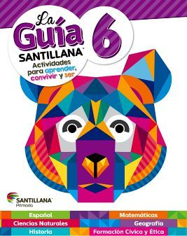 GUIA SANTILLANA 6 PRIM. (ED.2018) -SOLO UN LIBRO-